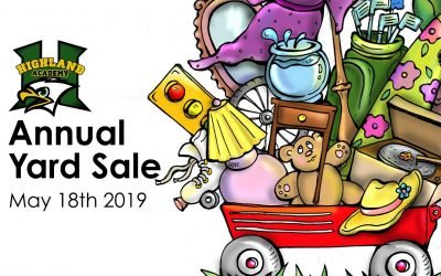 2019 Highland Academy Yard Sale